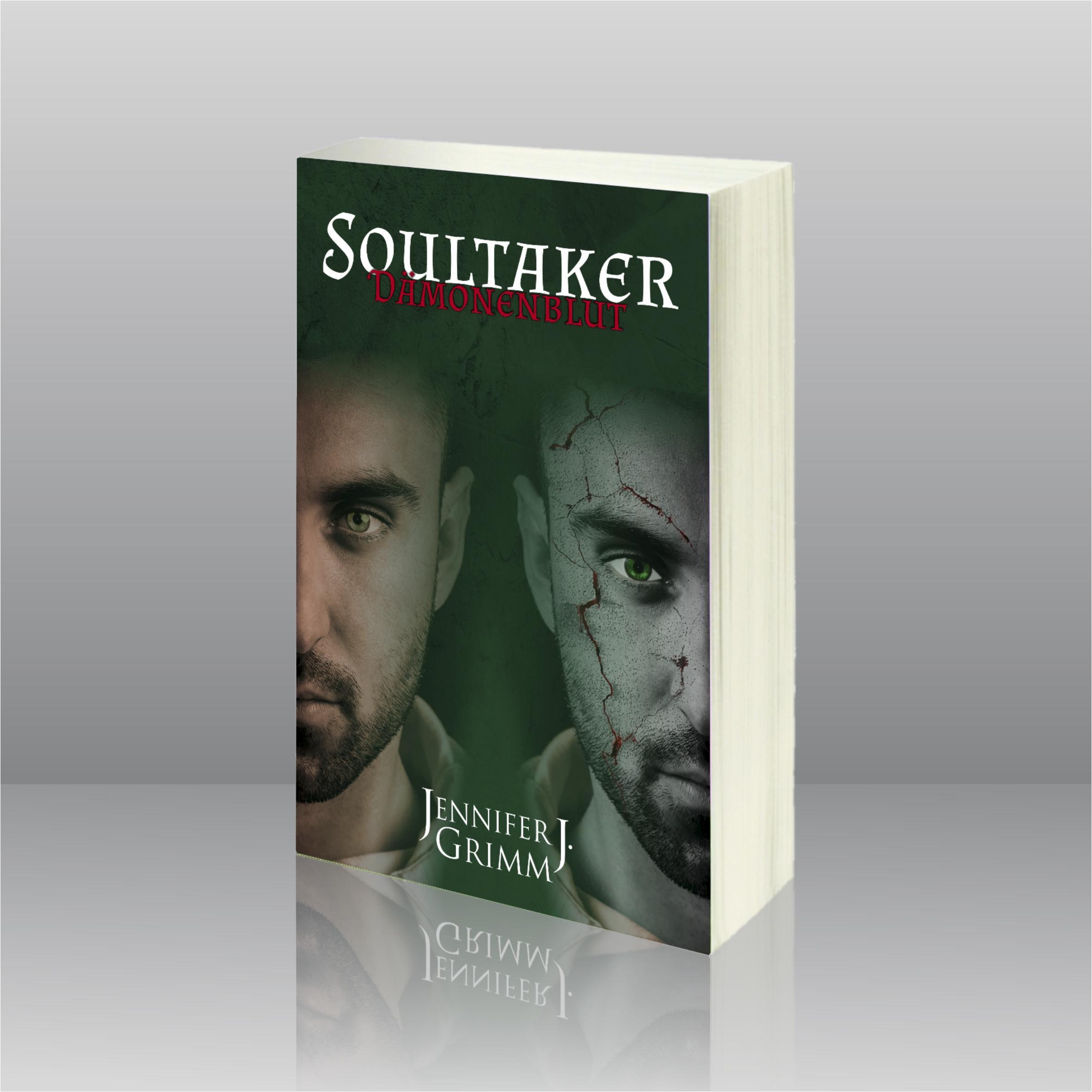 Cover Jennifer J. Grimm Soultaker Dämonenblut BENISA WERBUNG